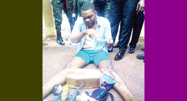 Police parade Enugu pastor for rape, money ritualsPolice parade Enugu pastor for rape, money rituals